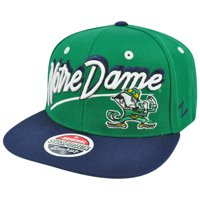 21555f808a1 Product Image NCAA Zephyr Shadow Script Notre Dame Fighting Irish Original Snapback  Hat Cap