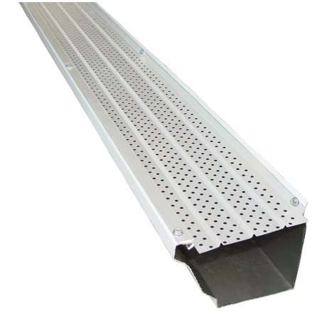Gutters Gutter Guards (FlexxPoint 30 Year Gutter Cover System, White Residential 5