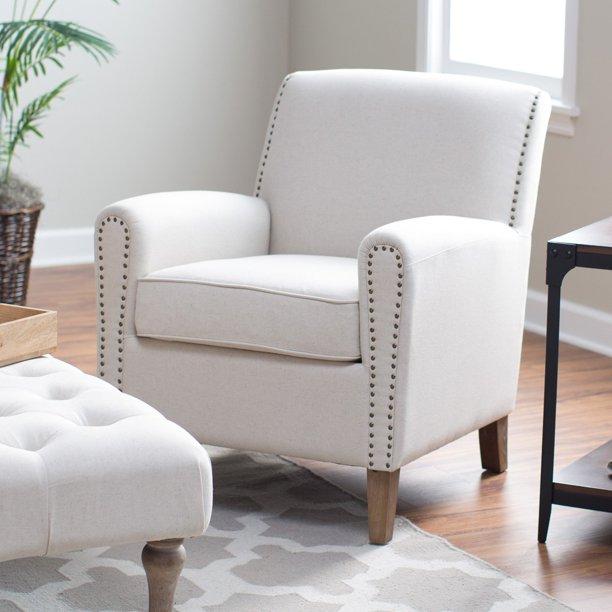Belham Living Nala Arm Chair with Nailheads