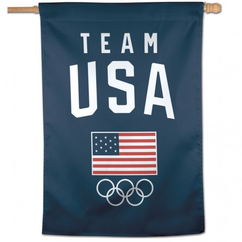 Team USA Official OLYMPICS 27 inch x 37 inch  Banner Flag by Wincraft