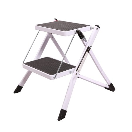 Redcamp Small Folding Step Ladder 2 Step Sturdy Heavy