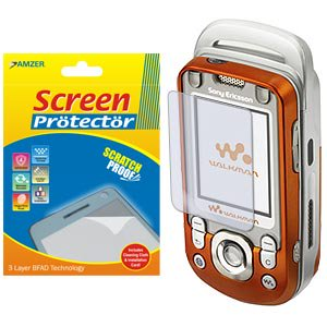 Clear Screen Protector Scratch Guard Shield for Sony Ericsson