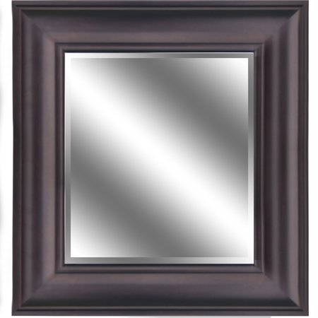 Reflection 23 X 27 1 Bevel Mirror 5 Oil Rubbed Bronze Color