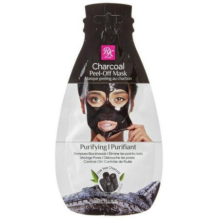 KISS Ruby Kisses Charcoal Mask Peel-Off Packette .35 oz ()