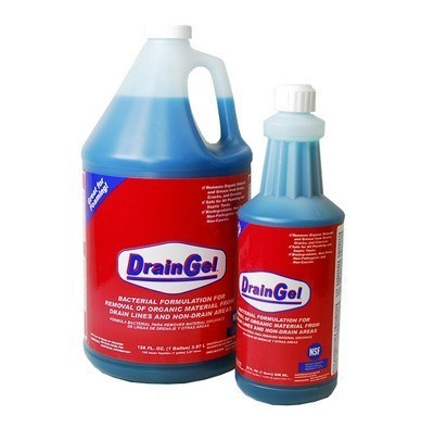 Drain Gel Drain Organic Cleaner-4 Gallons