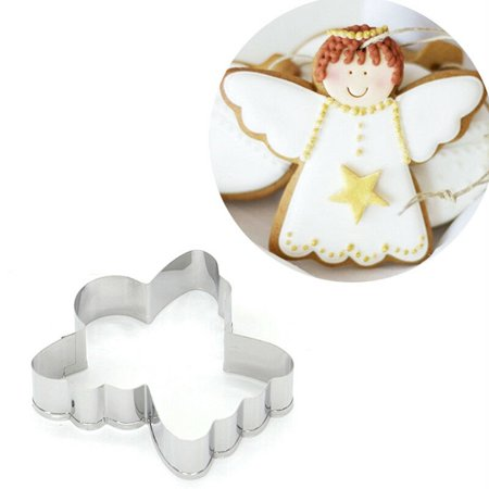 KABOER Angel Cake Decoration Cookie Cutter Tools Kitchen Supplies Stainless Steel Nice