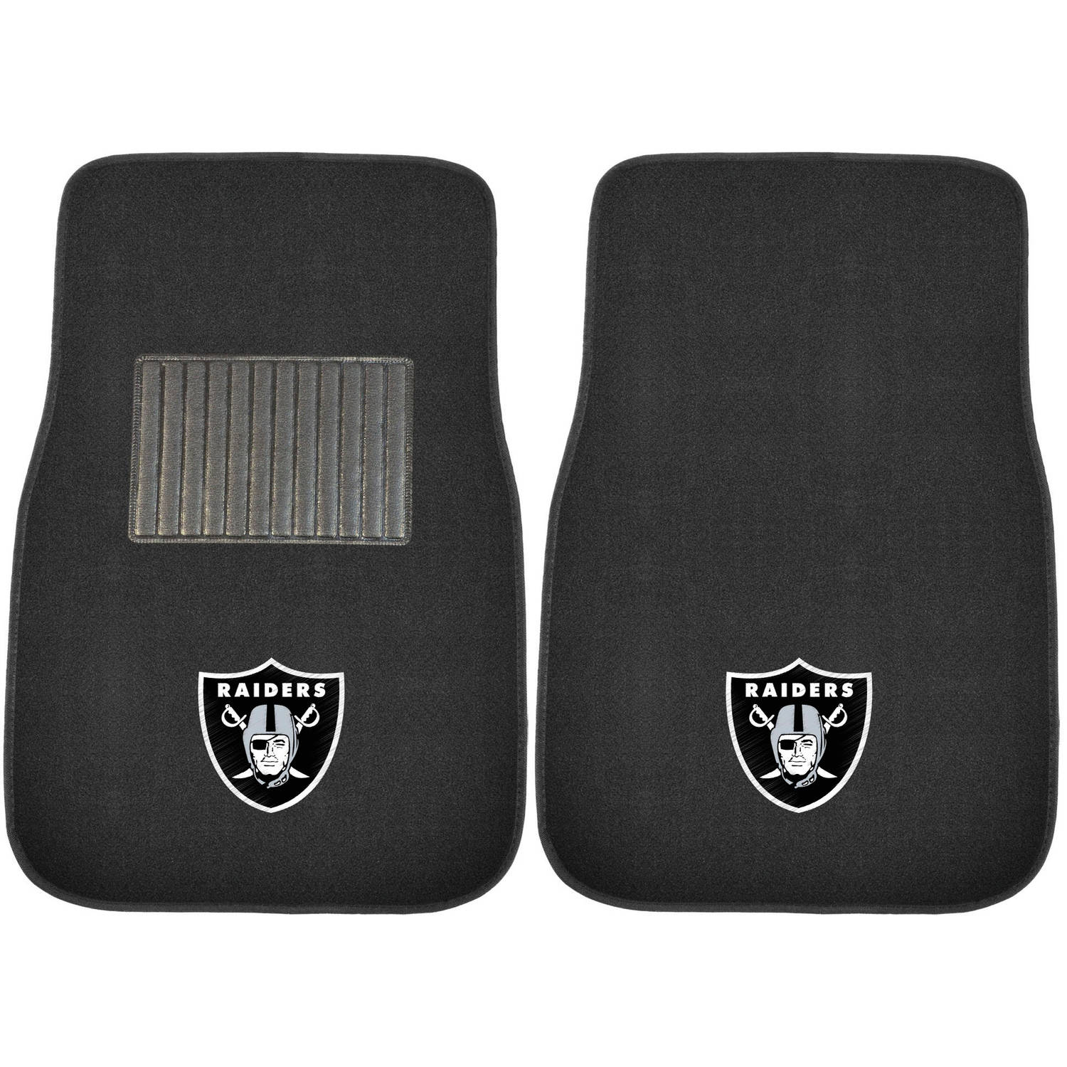 NFL Oakland Raiders Embroidered Car Mats