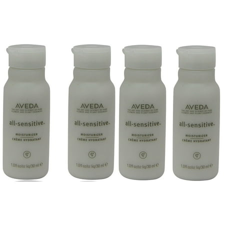 Aveda All Sensitive Creme Moisturizer Lotion Lot of 4 bottles Total of