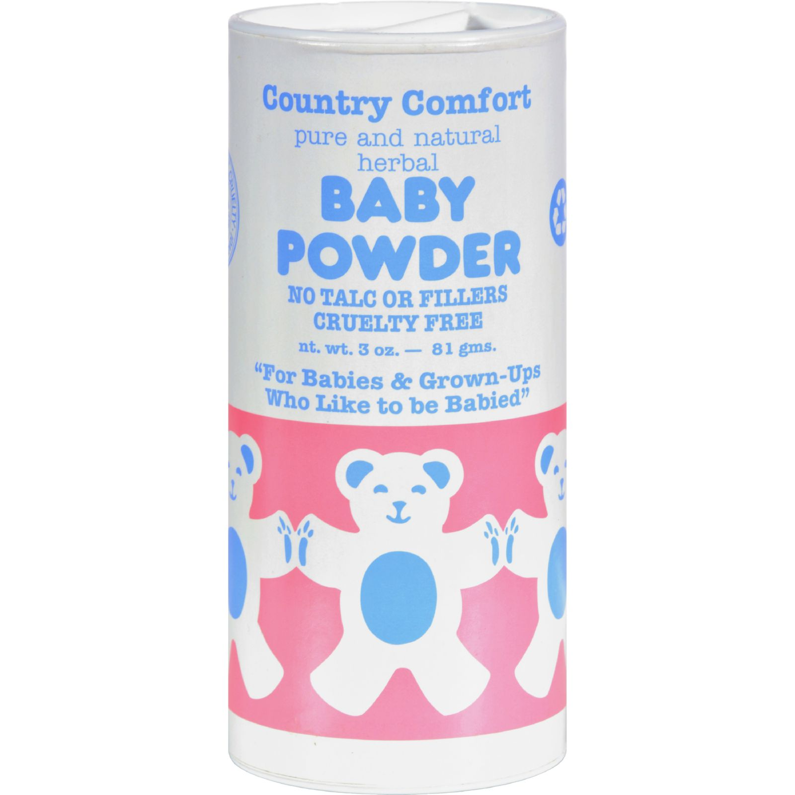 Country Comfort Baby Powder 3 oz by Country Comfort