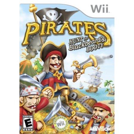 Pirate\'s: The Hunt For Blackbeard\'s Booty - Nintendo