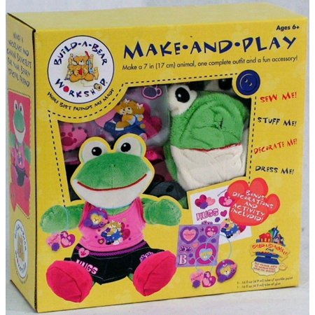 Build a Bear Make and Play FROG FRIENDSHIP](Build A Bear Promotion)