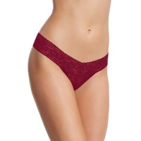 Felina | Super Comfortable Super Stretchy Lace Thong | Panty | Low Rise