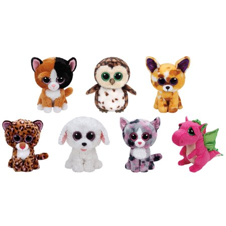TY Beanie Boos - 2016 SPRING Releases SET of 7 (Medium Size - 9 inch)