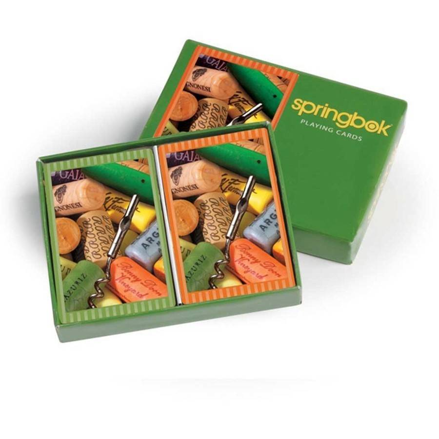 Springbok Cork Collection Bridge Standard Index Playing Cards