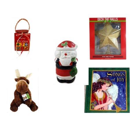 Christmas Fun Gift Bundle 5 Piece Musical Gift Card Holder
