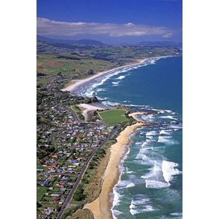 Brighton near Dunedin New Zealand Canvas Art - David Wall  DanitaDelimont (24 x 37)