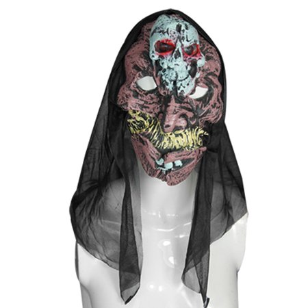 Unique Bargains Big Teeth Skull Forehead Horrible Halloween Sound Mask - Unique Halloween Masks