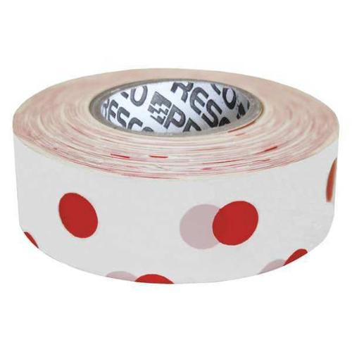 PRESCO PRODUCTS CO PDWR-188 Flagging Tape, White/Red, 300ft x 1-3/16In