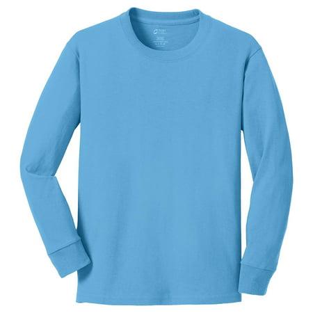 Port & Company Boy'sIndispensable Classic Friendly T Shirt ()