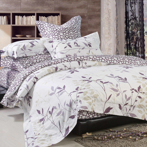 North Home Iris 220 Thread Count Queen Sheet Set