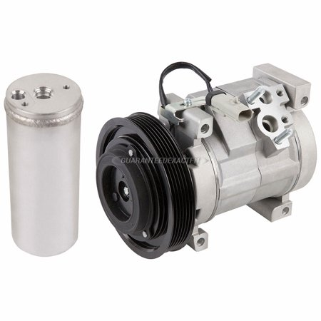 AC Compressor w/ A/C Drier For Chrysler Voyager & Dodge Caravan Chrysler Cirrus A/c Compressor