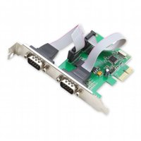 2-port Serial PCIe, x1, Revision 1.0a, (Full & Low Profile)