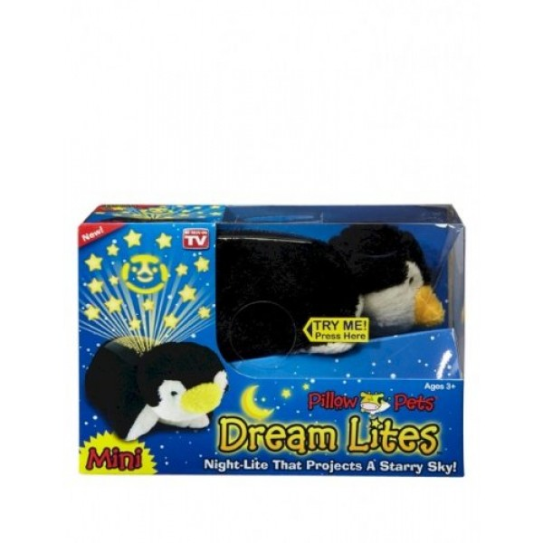 Pillow Pets Dream Lites Mini - Playful Penguin