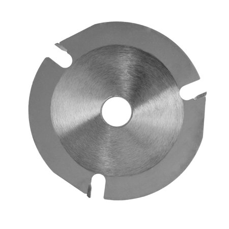 125mm 3 Teeth Circular Saw Blade Multifunctional Grinding Machine Grinder Saw Disc Carbide Tipped Wood Cutting Blade Power Tool Accessories Carbide Cutting Saw Blade