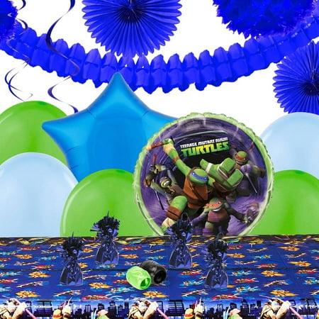 Teenage Mutant Ninja Turtles Decoration Kit - Ninja Turtles Birthday Party Supplies