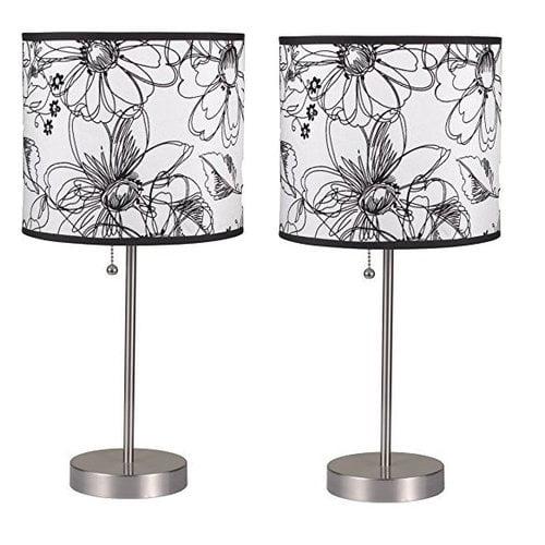 Latitude Run Daisha Pull 19'' Table Lamp (Set of 2)