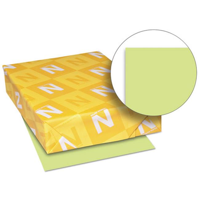 Wausau Papers 26791 8.5 x 11 Exact Brights Paper, Bright Green