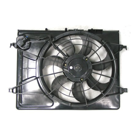 Replacement Depo 321-55018-000 Cooling Fan For 99-09 Hyundai Elantra 253802H150