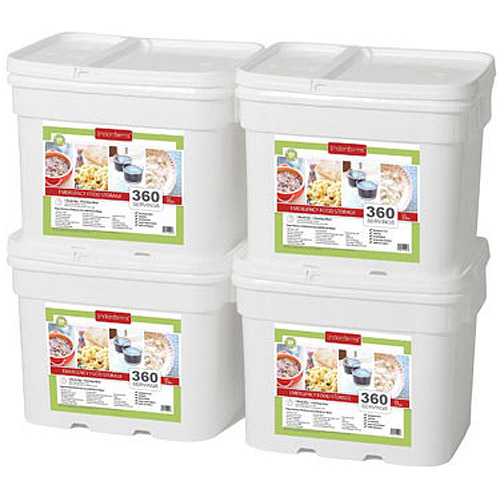 Lindon Farms 1440 Servings Freeze Dried Food Survival Emergency Storage Meals