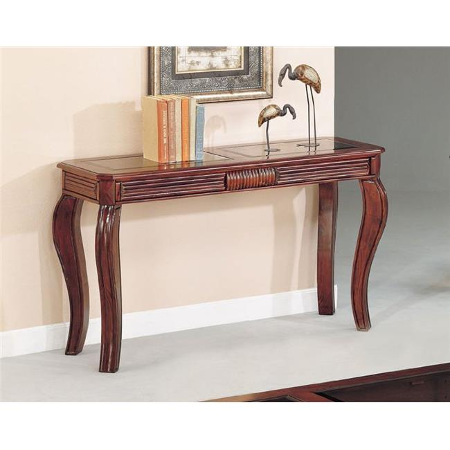 ACME Overture Sofa Table, Cherry by Acme Furniture Industry Inc