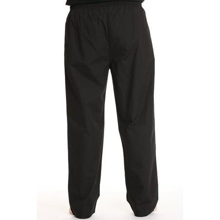 #followme Mens Solid Poplin Pajama Pants with Pockets