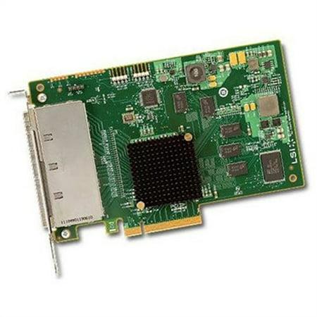 LSI Logic 9201-16e SAS Controller - Serial Attached SCSI, Serial ATA/600 - PCI Express 2.0 x8 - Plug-in Card