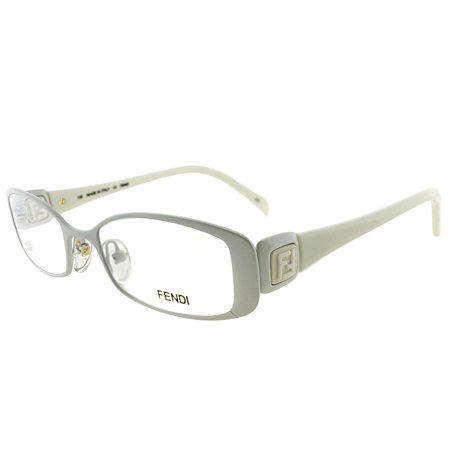 Fendi FE 901 105 Women's Rectangle (White Eyeglass Frames For Men)