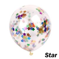 5pcs 12inch Multicolor Confetti Balloon Party Wedding Decoration Christmas Balloons Decoration Birthday Balloon for Kids
