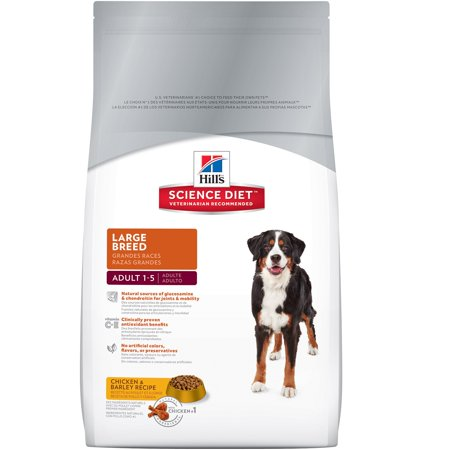 Hill's Science Diet (Get $5 back for every $20 spent) Adult Large Breed Chicken & Barley Recipe Dry Dog Food, 35 lb bag - Halloween Food Guts