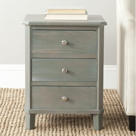 Safavieh Joe Classic End Table with 3 Storage Drawers ()