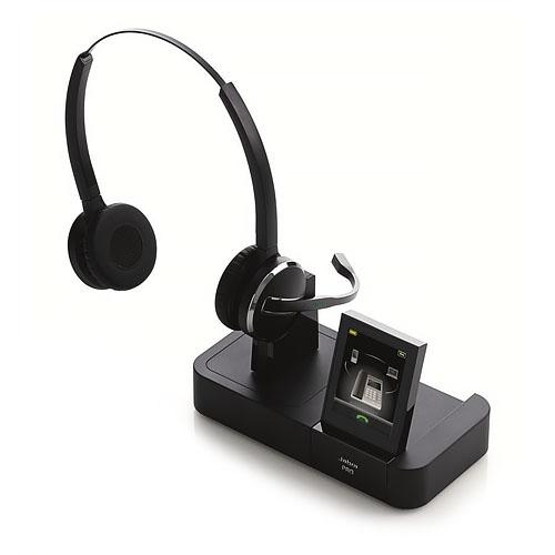 Jabra PRO 9460 Duo DECT 6.0 Wireless Headset w/ SafeTone ...