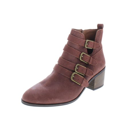 Lucky Brand Womens Loreniah Leather Ankle Booties