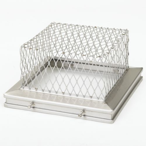 "Gelco 13204 8"" x 13"" 18-Gauge Stainless Steel Animal Guard"