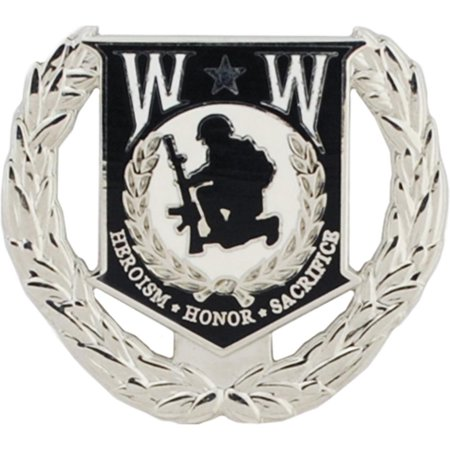 Pearl Wreath Pin (Vietnam POW Wreath Ohio Pin 1 5/16