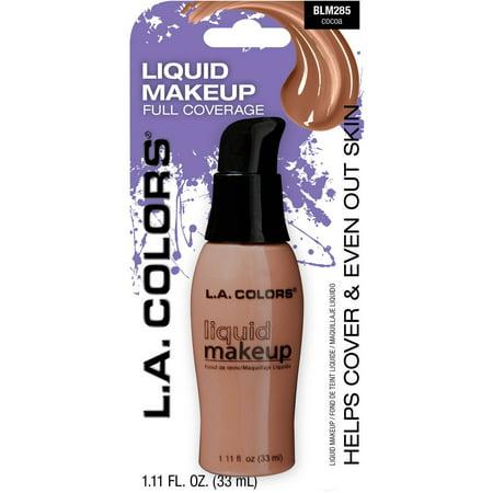 - (2 Pack) L.A. Colors Liquid Makeup, BLM285 Cocoa, 1.11 fl oz