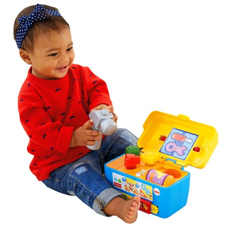 - Fisher-Price Laugh & Learn Smart Stagestoolbox