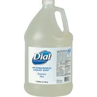 Dial, DIA82838, Sensitive Skin Antimicrobial Soap Refill, 1 Each, Clear