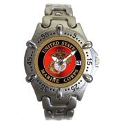 US Marines Steel Bezel Watch