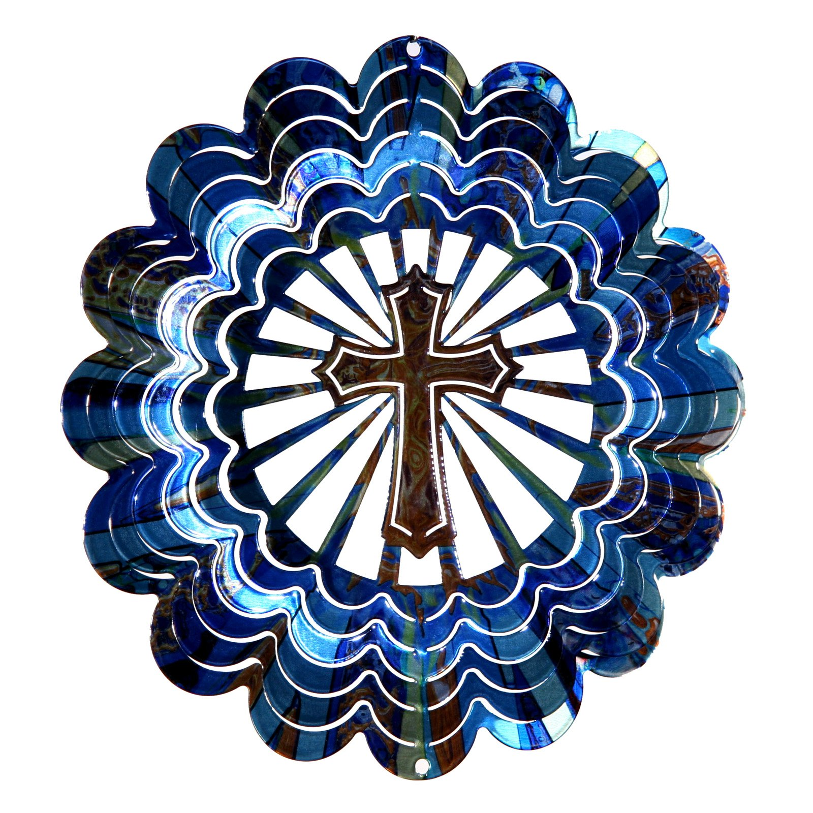 Next Innovations Kaleidoscope Cross Wind Spinner by Wind Spinners