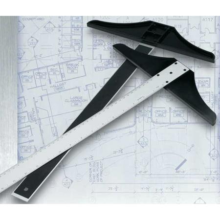 """Alumicolor Aluminum Standard T-Square, 12"""""""